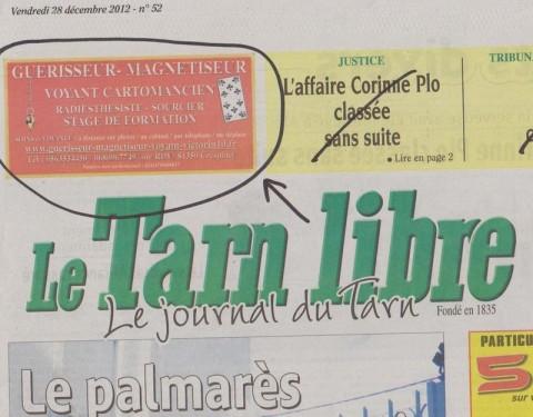 article publicité, laurent Victorin, www.guerisseur-magnetiseur-voyant-victorin10.fr